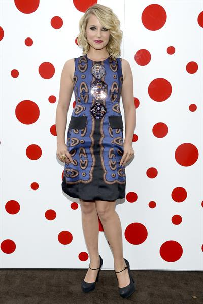 Dianna Agron - Louis Vuitton Dinner honoring Yayoi Kusama in New York - July 10, 2012