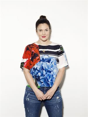 Drew Barrymore - Portraits of Her New Cosmetics Line  Flower  January 2013
