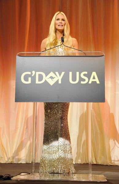 Elle Macpherson 2013 G'Day USA Black Tie Gala in LA 1/12/13