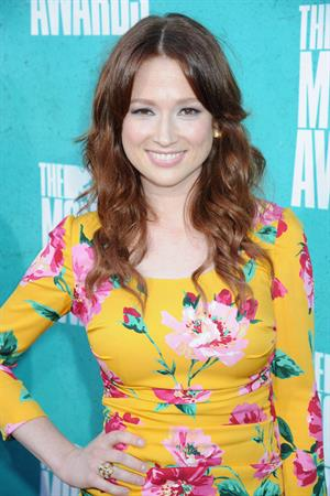 Ellie Kemper at 2012 MTV Movie Awards, June 3, 2012