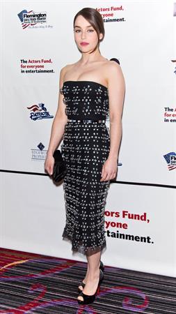 Emilia Clarke 2013 Actors Fund Gala, April 29, 2013