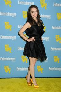 Emilia Clarke Entertainment Weekly's 6th Annual Comic-Con Celebration, July 14, 2012