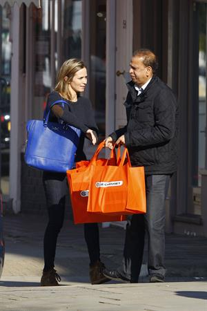 Emily Blunt Shopping in Notting Hill, London, Feb 19, 2013