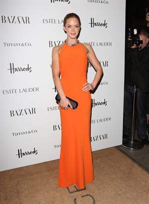 Emily Blunt Harper's Bazaar Women of the Year Awards in London - October 31, 2012
