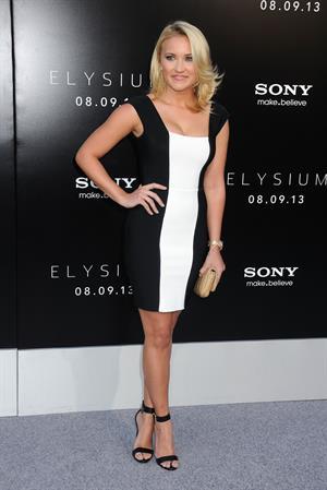 Emily Osment  Elysium  Los Angeles Premiere -- Westwood, Aug. 7, 2013