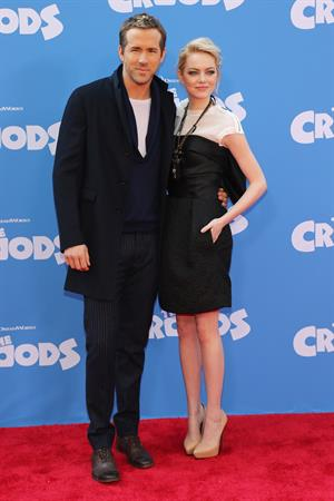 Emma Stone 'The Croods' premiere in NYC 3/10/13