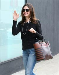 Emmy Rossum in Hollywood 1/23/13