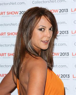 Eva LaRue LA Art Show Opening Night Premiere Party (Jan 23, 2013)