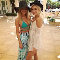 Alexandra Tyler in a bikini
