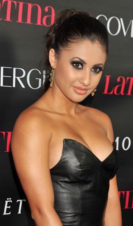 Francia Raisa - Latina Magazine Celebrates Latinos In Hollywood October 4, 2012