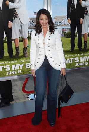 Fran Drescher - Premiere of Columbia Pictures'  That's My Boy  at Regency Village Theatre (June 4,2012)