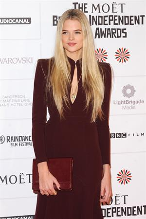 Gabriella Wilde 2012 British Independent Film Awards in London, December 9, 2012