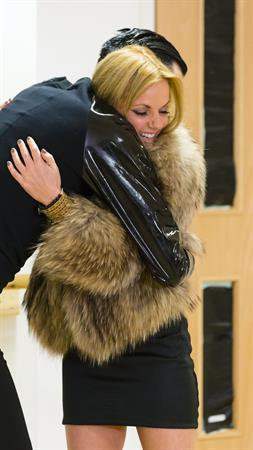 Geri Halliwell The Factor' Behind the scenes in London - November 9, 2012