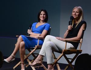 Gwyneth Paltrow attends 'Meet The Developer' at the Apple Store Soho in NY May 7, 2013