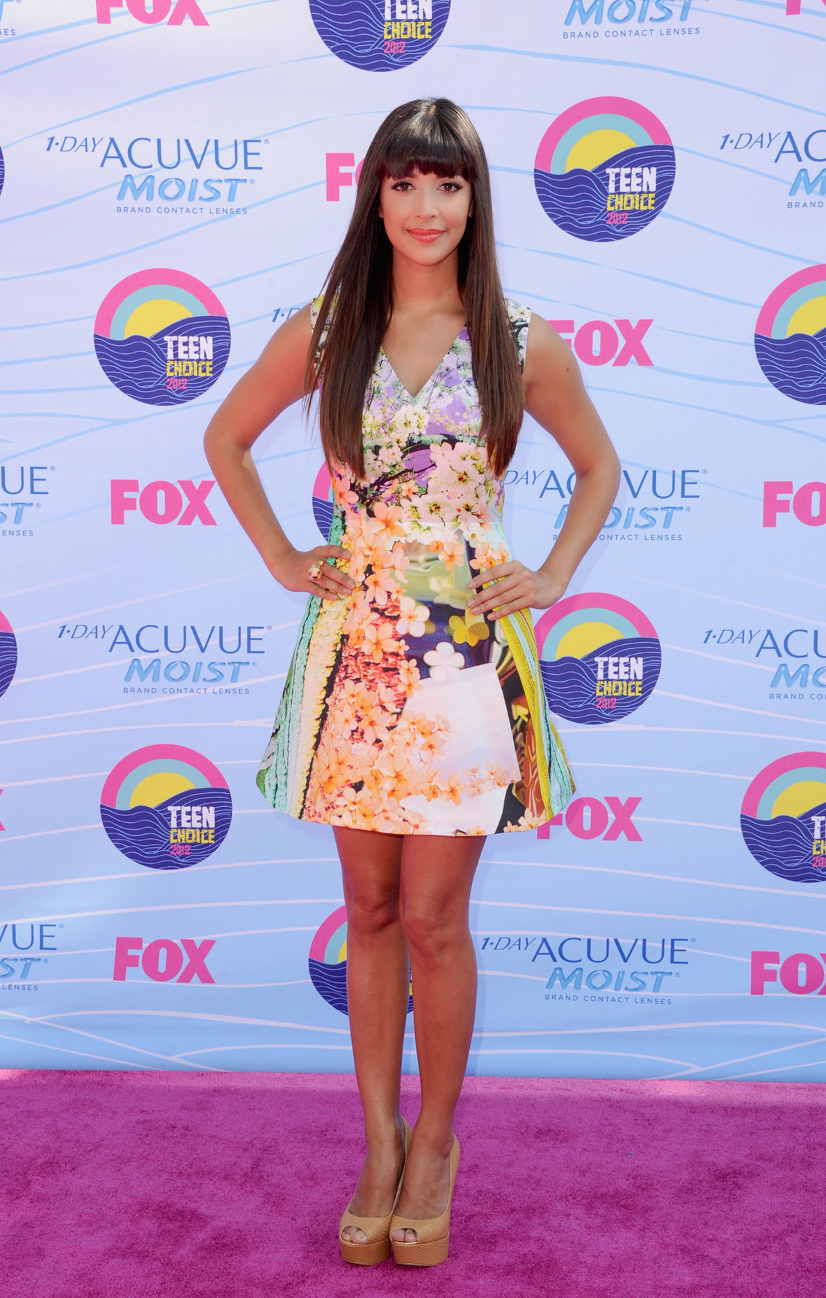 Hannah Simone - 2012 Teen Choice Awards in Universal City (July 22, 2012)