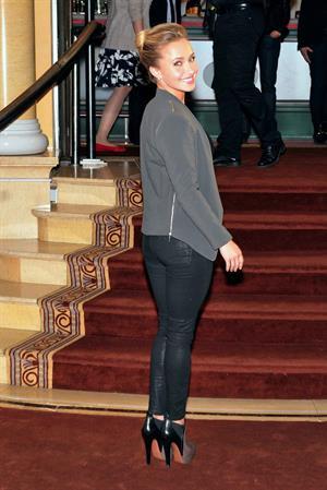 Hayden Panettiere Nashville Screening Munich on June 3, 2013