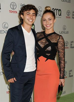 Hayden Panettiere 23rd annual Environmental Media Awards - Burbank - October 19, 2013