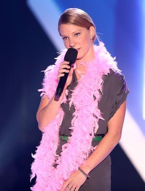 Heather Morris at Nickelodeon's 2012 TeenNick HALO Awards at Hollywood Palladium in Hollywood on Nov. 17, 2012