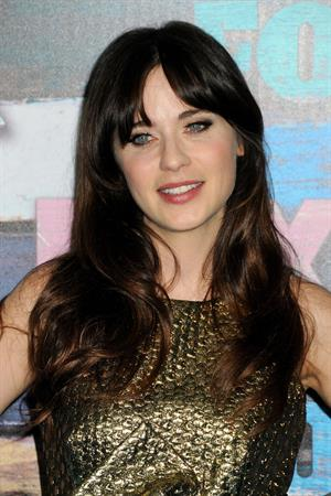 Zooey Deschanel - Arrives the FOX All-Star Party Soho House in West Hollywood 23.07.12
