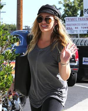 Hilary Duff candids in Santa Monica 11/1/13