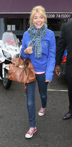 Holly Willoughby at Celeb Juice - August 29, 2012