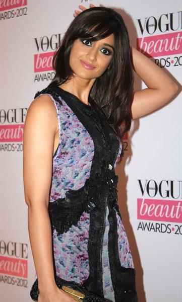 Ileana D'Cruz Vogue India Beauty Awards in Mumbai on August 1, 2012