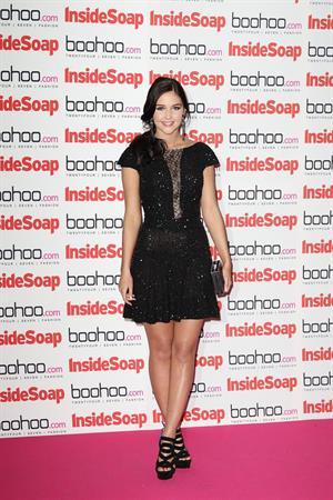 Jacqueline Jossa - Inside Soap Awards Sept 24, 2012