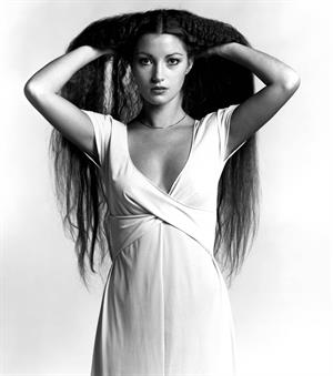 Jane Seymour : Young B&W Photoshoot