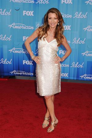 Jane Seymour - May 23, 2012 American Idol Season 11 Finale at Nokia Theatre in Los Angeles