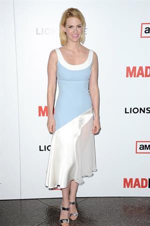 January Jones 'Mad Men' Season 6 premiere in LA 3/20/13