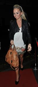 Jennifer Ellison Corrie Musical Manchester on May 10, 2012