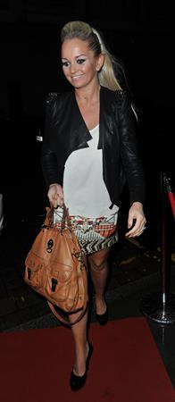 Jennifer Ellison Corrie Musical Manchester on May 10, 2012