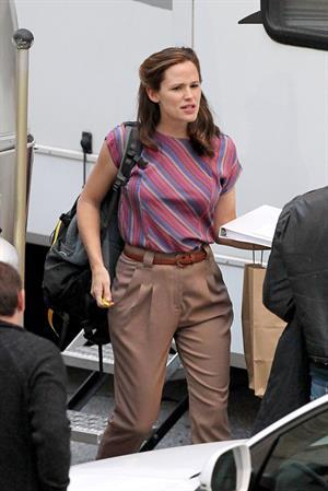 Jennifer Garner Filming 'Dallas Buyers Club' in New Orleans (November 15, 2012)