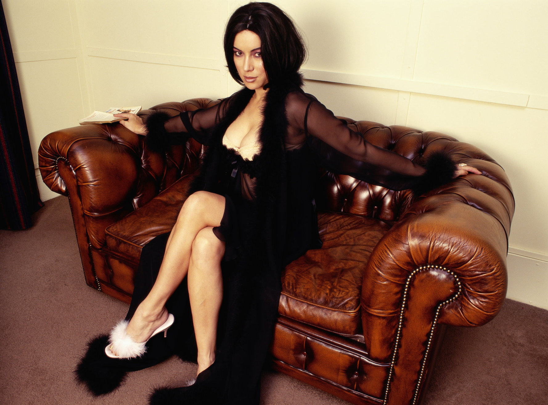 Jennifer Tilly - Piers Hammer Photoshoot 1998