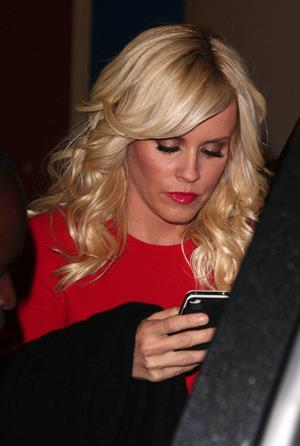 Jenny McCarthy leaves Live With Kelly and heads over to the NBC Today Show - Jun 5, 2012