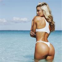 Cassandre Davis in a bikini - ass