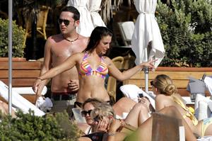 Jessica Lowndes wearing a bikini in Spain June 26, 2012