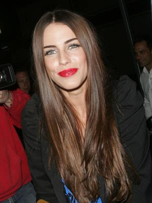 Jessica Lowndes celebrating her 22nd at Red O in Hollywood on November 8, 2010