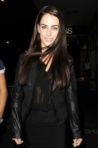 Jessica Lowndes - Leaving Rose nightclub - London - August 4, 2012