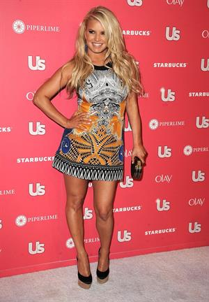 Jessica Simpson attends US Weekly Hot Hollywood on April 26, 2011