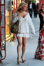 Jessica Simpson out in Santa Monica on June 28, 2011