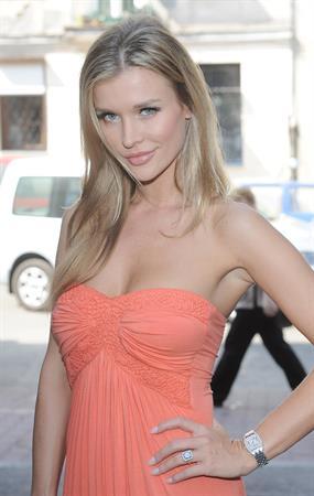 Joanna Krupa promotes her apperance on Top Model in Warsaw Poland