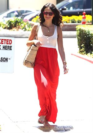 Jordana Brewster - Runs Errands on the Sunset Strip in Los Angeles on June 28, 2012