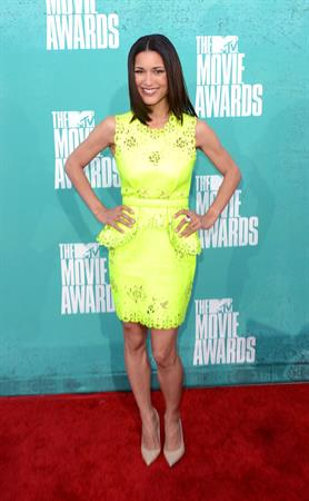 Julia Jones - MTV Movie Awards at Universal Studios, Arrivals - June 3, 2012