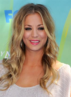 Kaley Cuoco 2011 at the Teen Choice Awards on August 7, 2011