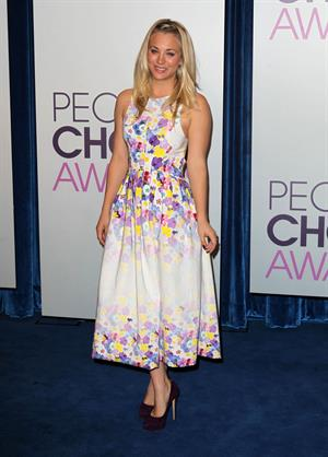 Kaley Cuoco People's Choice Awards 2013 Nomination Announcements (November 15, 2012)