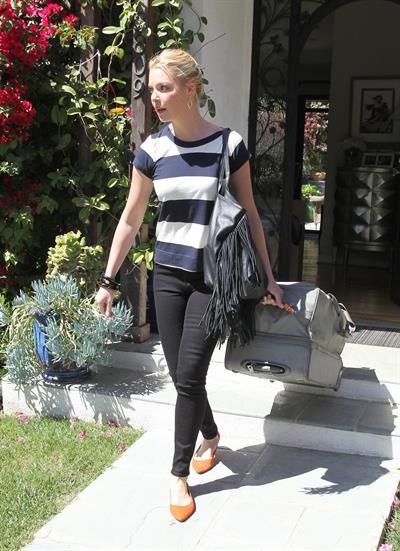 Katherine Heigl in Los Angeles on April 17, 2013