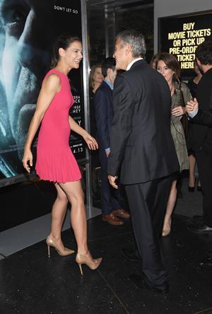Katie Holmes  Gravity  New York Premiere - Oct. 1, 2013
