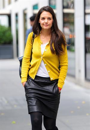 Katie Holmes in New York - October 2, 2012