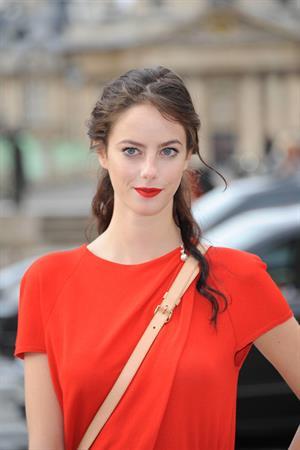 Kaya Scodelario  Paris Fashion Week - October 3, 2012